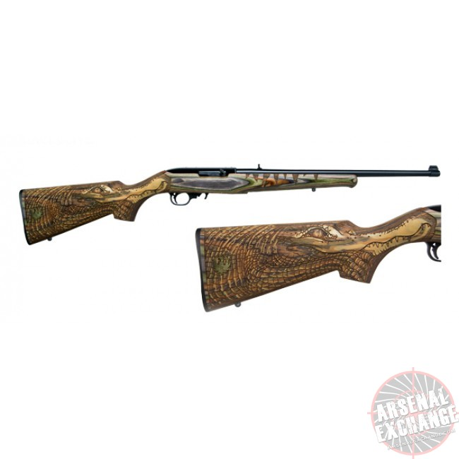 Ruger 10/22 Gator Special Edition 22 LR - Free Shipping - No CC Fees