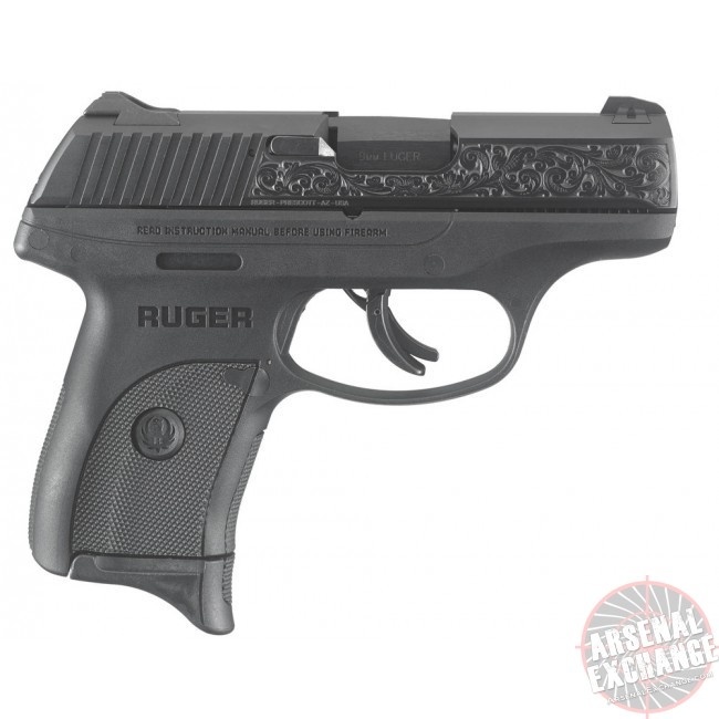 Ruger LC9s Engraved 9MM - Free Shipping - No CC Fees