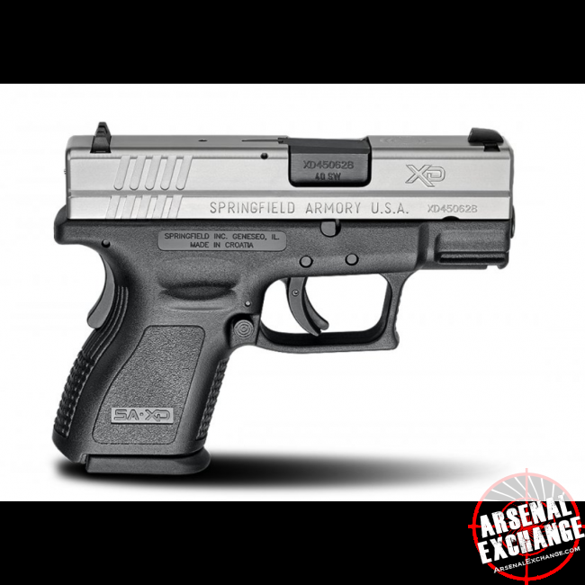 Springfield XD Sub-Compact 40 S&W - Free Shipping - No CC Fees
