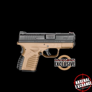 Springfield XDs Davidsons Special 9mm - Free Shipping - No CC Fees