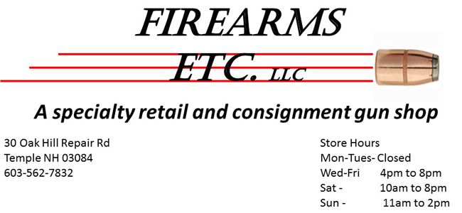 Firearms Etc. LLC, Temple , NH